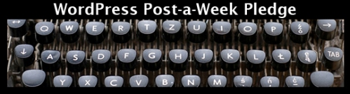 WordPress.com Post a Day challenge